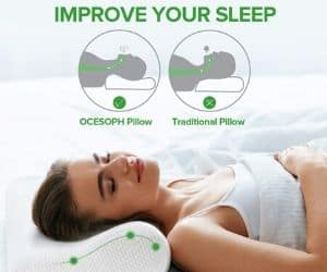 OCESOPH Bamboo Bed Pillow
