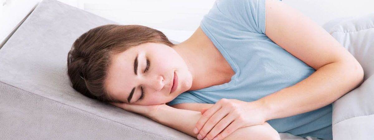 Sleep apnea pillow